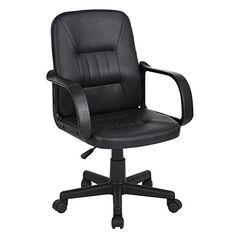 Santana Sports Chair, Executive Office Chair, Desk Chair, Ergonomic Swivel  Study Computer Gaming Chair | Office Chairs And Stools | Pinterest |  Executive ...