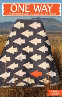 One Way - PDF Quilt Pattern – Sassafras Lane Designs