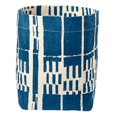 The Land of Nod | Blue Landscape Floor Bin in Floor Storage $36