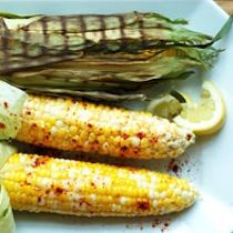 Grilled Corn with Honeycomb Butter