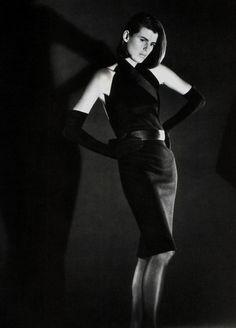 Calvin Klein, American Vogue, October 1986.