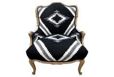 Ralph  Lauren & French Linen Armchair