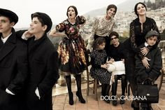 Dolce & Gabbana Fall Winter 2013 Ad Campaign | Let's make a storm