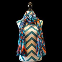 """Disco"" from Nancy's Facy Scarves! #scarves #nancysfancyscarves #lightandflowy #womensfashion #fashion #layering #fashionstyle"