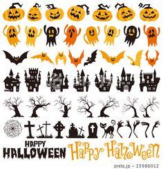 ハロウィン Halloween Templates, Halloween Inspo, Halloween Clipart, Halloween Drawings, Halloween Pictures, Halloween Horror, Scary Halloween, Halloween Themes, Fall Halloween