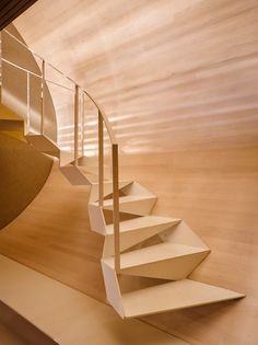 Contemporary Stairs, Modern Staircase, Staircase Design, Contemporary Architecture, Contemporary Interior, Interior Architecture, Contemporary Office, Contemporary Building, Spiral Staircases