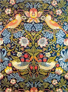 William Morris' Strawberry Thieves