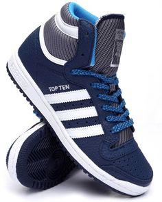 Find Top Ten Hi Varsity Pack Sneakers (Unisex) Men's Footwear from Adidas & more at DrJays. on Drjays.com
