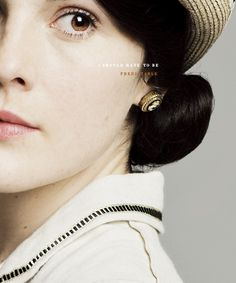Lovely Mary Crawley of Downton Abbey