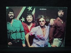 NobleSpirit NO RESERVE {3970} Signed Alabama Magazine Print (Country Band)