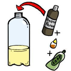 Want to try the elephant's toothpaste experiment at home or at school? We have all the instructions you need to make your own foamy fountain.