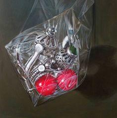 Acrylic on canvas size 100/100 cm