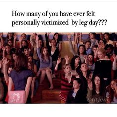"""""""How many of you have ever felt personally victimized by Regina George?"""" A Definitive Ranking Of The Best """"Mean Girls"""" Quotes Gym Memes, Gym Humor, Workout Humor, Fitness Humour, Crossfit Humor, Fitness Motivation, Regina George, Pink Beige, Best Mean Girls Quotes"""