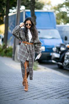 Gegürtet auf der Pariser Fashion Week