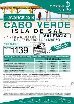 Cabo Verde (Isla de Sal). Salidas Enero, Febrero, Marzo desde Valencia ultimo minuto - http://zocotours.com/cabo-verde-isla-de-sal-salidas-enero-febrero-marzo-desde-valencia-ultimo-minuto/