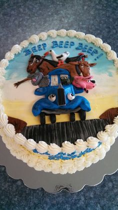 First Birthday-Little Blue Truck on Pinterest  Little blue trucks ...