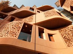 Masdar City, Abu Dhabi, UAE by Foster + Partners: like the houses aren't the public spaces too European?