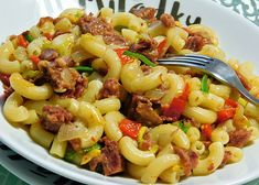 Pasta Salad, Good Food, Food And Drink, Ethnic Recipes, Red Peppers, Crab Pasta Salad, Healthy Food, Yummy Food