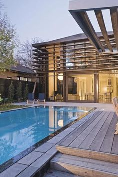 Explore a range of pool & spa options, from bespoke pool designs to lighting and heating. House Building, Building Ideas, My House Plans, Beautiful Pools, Cool Pools, Wishful Thinking, Pool Designs, Dream Houses, Period