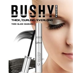 Beauty Essentials Women 3d Thick Eyelashes Black Lash Mascara Makeup Growth Liquid Curling Curling Eye Long Eyelash Silicone Brush Mascara Elegant In Smell Mascara