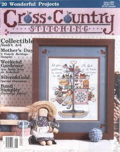 Gallery.ru / Фото #1 - Cross Country Stitching 1993-06 - tymannost