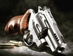 Gemini Customs makes the Ruger Super Redhawk a viable—and beautiful—personal-protection gun. 357 Magnum, Ruger Revolver, Rifles, Lethal Weapon, Fire Powers, Home Defense, Guns And Ammo, Firearms, Shotguns