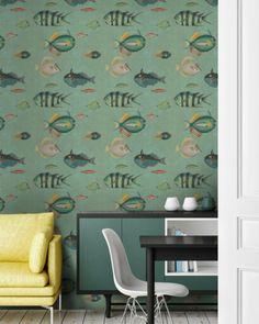 Poissons Wallpaper by Mindthegap — The Modern Shop
