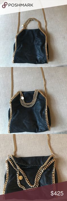 Stella McCartney Falabella Shaggy deer fold over Minimal use Stella McCartney Bags Crossbody Bags