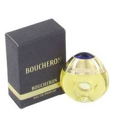 Boucheron Mini EDP By Boucheron. Boucheron Perfume by Boucheron, Created in 1988 by perfumers francis deleamont and jean-pierre bethouart, boucheron commemorates the luxury jewelry emporium in paris' place vendome. For the woman who wants to make a statement, boucheron is an opulent spicy floral perfume. Notes include pelargonium, ylang-ylang, tuberose, daffodil, orange blossom from morocco and jasmin, civet, benzoin, woody notes, tonka bean, indian vanilla, oakmoss, ambergris…