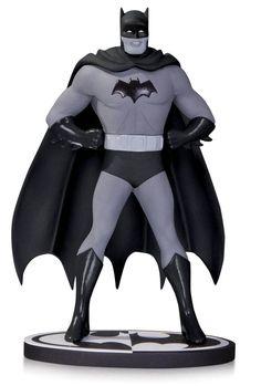 Estatua Batman. Blanco