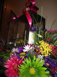 Spring Wedding Shower Centerpieces