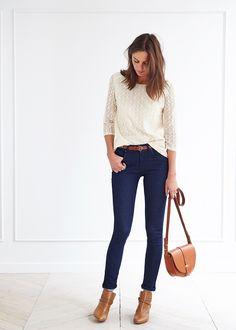 Blouse Françoise - Lookbook Automne Hiver - www.sezane.com #sezane #françoise #blouse #lookbook
