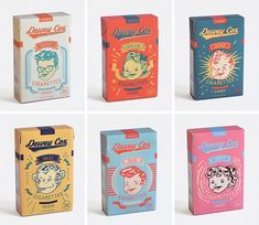 """What kind of candies did kids enjoy in the vintage candy packaging was inspired by a movie """"Walk Hard: The Dewey Cox Story. Retro Packaging, Candy Packaging, Food Packaging Design, Packaging Design Inspiration, Graphic Design Inspiration, Branding Design, Logo Design, Chocolate Packaging, Coffee Packaging"""