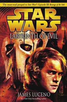 Labyrinth of Evil Cover - Labyrinth of Evil focuses on Anakin and Obi-Wan learning about and trying to track down Darth Sidious, a major improvement in that the Jedi are suddenly no longer completely oblivious to their antagonist.