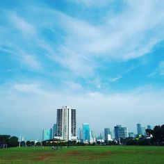 Sunday morning in Jakarta