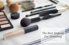 The Best Makeup for Traveling