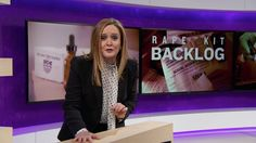 Rape Kit Backlog | Full Frontal with Samantha Bee | TBS | ``You'd think crucial evidence for one of the worst crimes imaginable wouldn't be gathering dust on a shelf like a can of creamed corn. But you'd be wrong.``