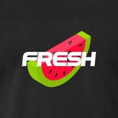 Wassermelone - fresh - Sommer - Sonne - Natur - Männer Premium T-Shirt
