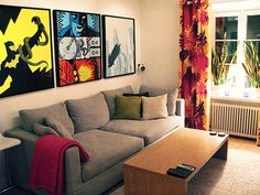 Jakob Westman's Apartment: My dream apartment and also proof that Swedish men are the best.
