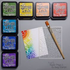Stamping Techniques   Scrapbooking Ideas   Card Making   Stamping   Creative Scrapbooker Magazine #stamping #cardmaking