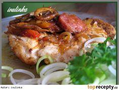 Kuřecí po chalupářsku Low Carb Recipes, Cooking Recipes, Poultry, Baked Potato, Crockpot, Chicken Recipes, Food And Drink, Treats, Snacks