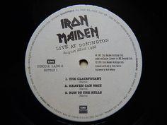 Iron Maiden - Live at Donington (1992 vinyl rip / full album)