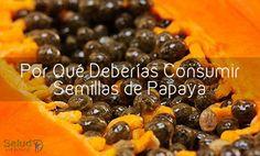 Potentes razones por las que no deberias tirar la semilla de papaya