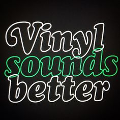 A diamond tip needle and clean the vinyl for a perfect sound. .