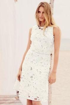 Next floral lace dress