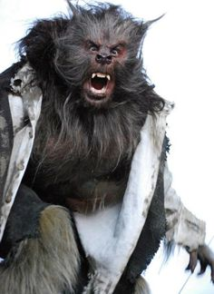 AwarOoOoooOO! Actor Douglas Tait as a werewolf for an AT&T commercial. #WerewolfWednesday. You can watch the commercial (too little werewolf if you ask me) here.