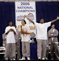 """We're back, baby."" With those three words from sophomore forward Joakim Noah, Friday night's 2006 Florida basketball national championship Joakim Noah, Three Words, National Championship, Best Dad, First Time, Basketball, Florida, Night, Baby"