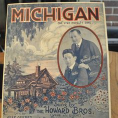 Michigan Sheet Music - Howard Brothers from secollectibles on Ruby Lane