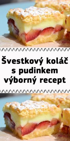 I Love Food, Good Food, Bread Dough Recipe, Czech Recipes, Sweet Recipes, Cake Decorating, Food And Drink, Sweets, Baking