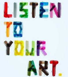 Listen to your art. And make it! #pinspirationaz #maker #diy #phoenix #scottsdale #az #pinspiration #az #pinterest #saturday #makings #valentines #valentinescrafts #vday #